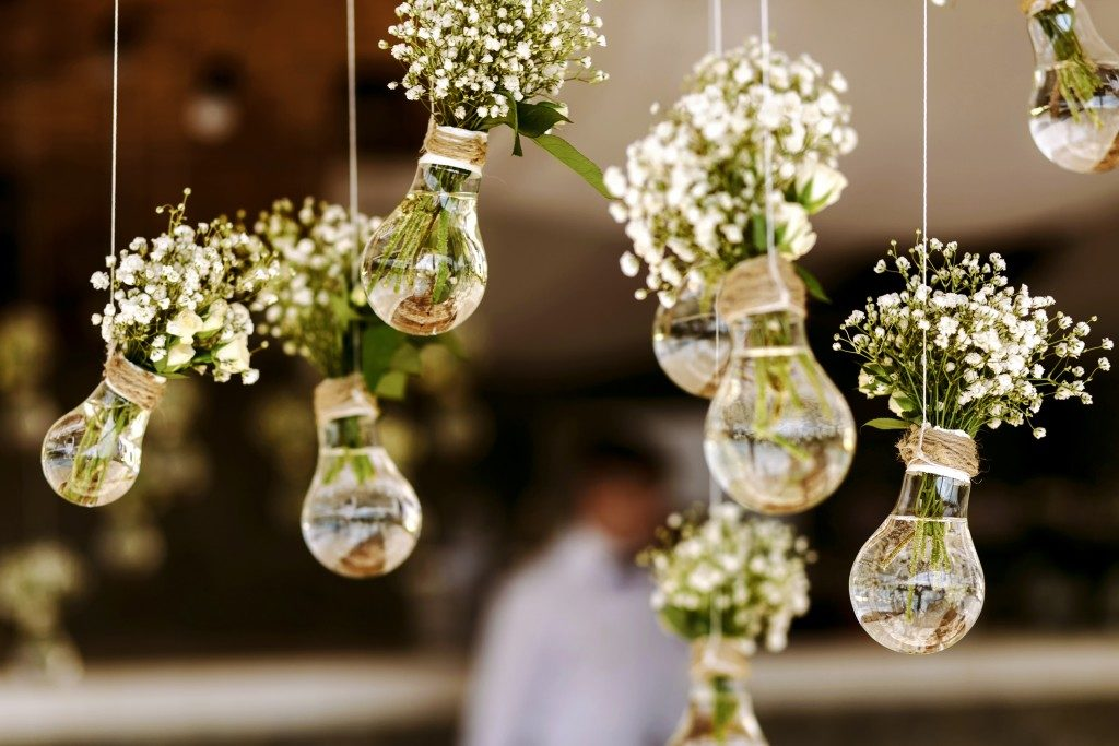 Rustic wedding favors and decorations